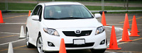 Car for drive test & driving lessons