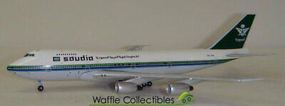 1:400 BigBird400 Saudia B 747-100 HZ-AIA 12030 BB4-2005-XX Airplane Model