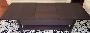Coffee Table with Extender (Really Neat Design)