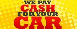 $$ CASH FOR YOUR UNWANTED CARS,VANS,TRUCKS $$ 416 315 3070