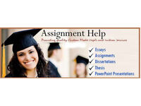 £30/1000 words Assignment/Essay/Dissertation/Proofreading/Programming/Nursing/SPSS/BBA/Civil- Help