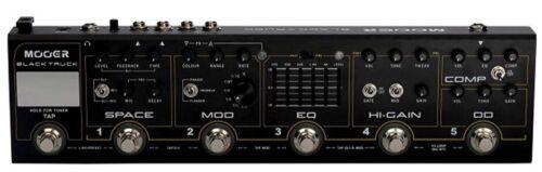 Mooer Audio Black Truck Multi Effects exlent cond OD distortion delay modulation