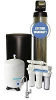 water softener installed with 7yrs warranty $849