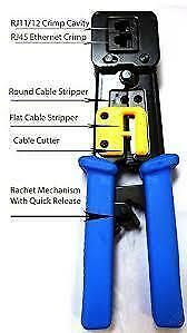 50%off! Professional EZ TOOL for RJ45, EZ Crimping tool for cat5,cat6 $29.99 (was$59.99)