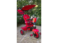 SMART TRIKE LADYBUG 3-in-1 EXCELLENT CONDITION, IN ORIGINAL BOX 10-48 MONTHS EXCELLENT XMAS GIFT