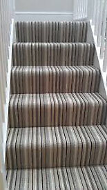 Striped Carpet - Brand New In Packet (3.66m x 3.66m), FREE Delivery