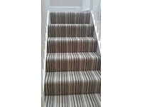 Striped Carpet or Rug - Brand New In Packet (3.66m x 3.66m)