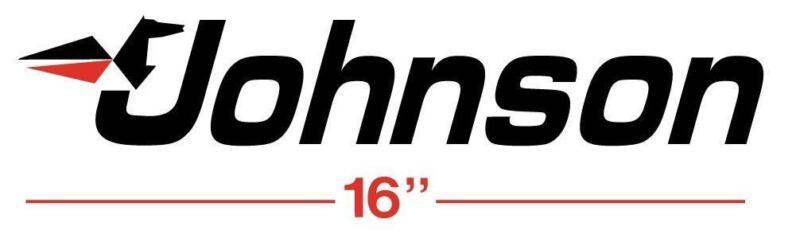 Johnson evinrude outboard motor decals for Johnson marine italia