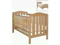 Mamas & Papas eloise cotbed and mattress