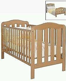 Mamas and Papas Eloise cot toddler bed