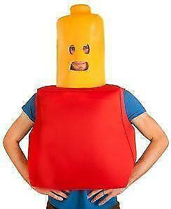 Kidsu0027 LEGO Costumes  sc 1 st  eBay : lego man fancy dress costume  - Germanpascual.Com
