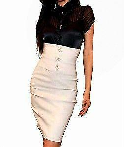 Pencil Skirts - White, Black, Leather, Printed | eBay