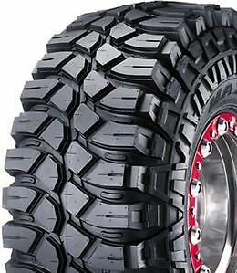 maxxis 37x14.5x-15 creepy crawler mud tyres comp 4x4 nissan toyota ford mazda