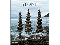 Hardback Andy Goldsworthy Time and Stone books