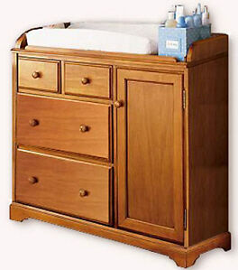 Nursery Baby Changing Dresser Table Woodworking Plans