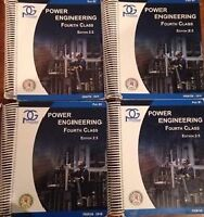 Complete 4th Class Power Engineering Material - $350.00