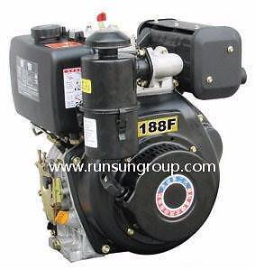 13 Hp Diesel Engine Runsun Air Cooled 456cc Single Cylinder with Hastings Mornington Peninsula Preview