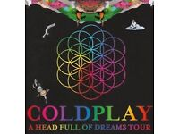 6x standing 4x seated coldplay tickets cardiff 12th July
