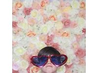 Beautiful Flowerwall for Hire for Photography/Wedding/DIY Photobooth