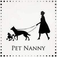 Pet Nanny pet sitting services