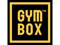 GYMBOX STRATFORD 7 months gym membership £65 pm plus £55 tfr fee