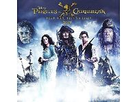 2018 Pirates of the Caribbean Calendar Official Disney Product