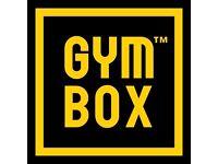 GYMBOX MEMBERSHIP - £65/MONTH