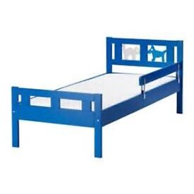 IKEA Junior bed (Blue)