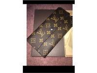 Louis Vuitton LV monogram print purse