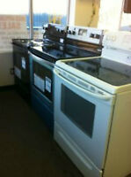 "30""  RANGES White or Black > Used Stove ""Sale"""