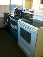 White or Black - S/C Ranges Starting $249-  Used Appliance SALE