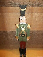 Free Standing (Wooden)Tin Soldier