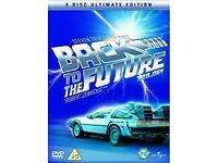 BACK to the FUTURE TRILOGY DVD COLLECTION