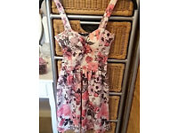 Womens dress - size 8 - floral