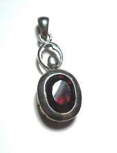 Garnet pendant ebay red garnet pendant mozeypictures Gallery
