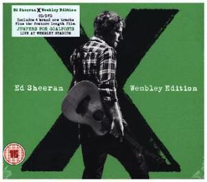Ed Sheeran X Wembley Edition; CD + DVD Live at Wembley Jumpers for Goalposts