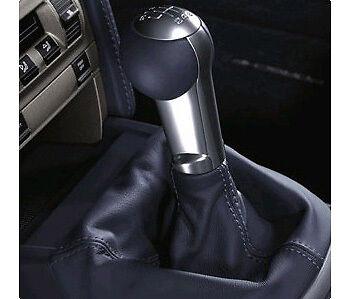 Porsche Turbo Shift Knob - Black Leather Cayman Carrera Boxster 911 997 987