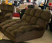 Double Chaise and Single Recliner Cranebrook Penrith Area Preview