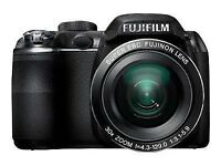 "Fujifilm FinePix S4000 14.0 MP Digital Camera w Fujinon 30x SWAOZ Lens 3"" LCD PICK UP FROM LEEDS"