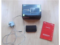 Boxed Cosmic Black Nintendo 3DS with 18 Children's Games *VGC*