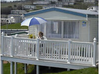 Caravans to let at Haven Devon Cliffs