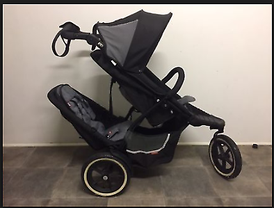WTB Phil and Teds Double Pram
