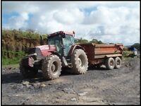 Tractor & Dumper Hire, Low Loader Hire, Plant Hire