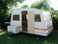Rapido 80s fold up caravan