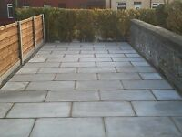 A1 garden designs landscapes flagging fencing turfing block paving driveways decking walls trees
