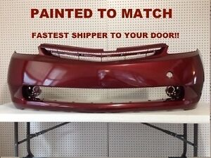 Fits; 2004 2005 2006 2007 2008 2009 Toyota Prius Front Bumper Painted (TO1000274