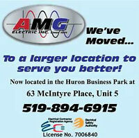 AMG ELECTRIC INC / Master Electrician / Electrical Contractor