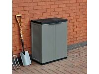 Medium Garden Storage Cabinet - Dark Grey