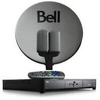 Satellite Dish Bell,Shaw,FTA: Service > Aiming > Installation >