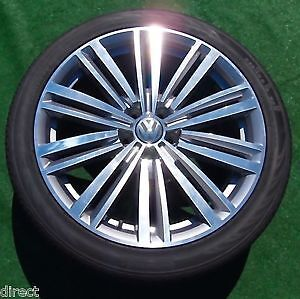 """Brand New 19"""" VW Tires on Rims For Sale!"""
